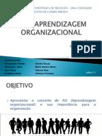 APREDIZAGEM ORGANIZACIONAL PP