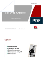 How to Analyze Call Drop by DT