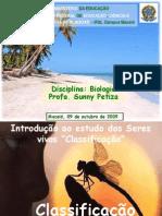 AULA - Sistemática, classificação e biodiversidade