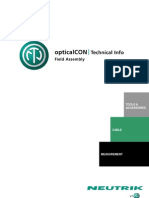 Optical Con Field Assembly - Technical Info v1.0