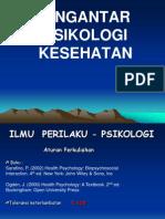 FK - Pengantar Psikologi Kesehatan 2011