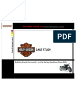 Harley Davidson Case Study - Building Brand Communities