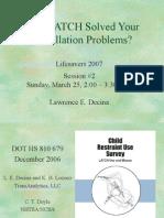 LATCH 1 Lifesavers