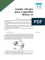 Cálculos para Aparelho Divisor