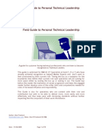 Field Guide to Personal Technical Leadership 2a