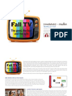 Fall 2011 TV Progress Report