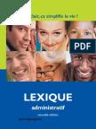 Lexique-administratif
