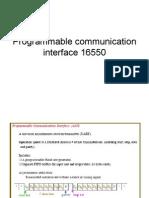 Programmable Communication Interface 16550