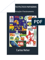 ESTATUTOS POLÍTICOS PARTIDÁRIOS ebook