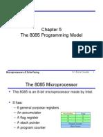 The 8085 Programming Model