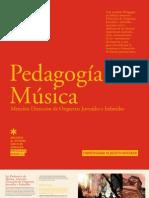 PEDAGOGIA EN MUSICA, ORQUESTAS JUVENILES 2012 - UAH