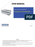 Stylus Pro 3800 Service Manual