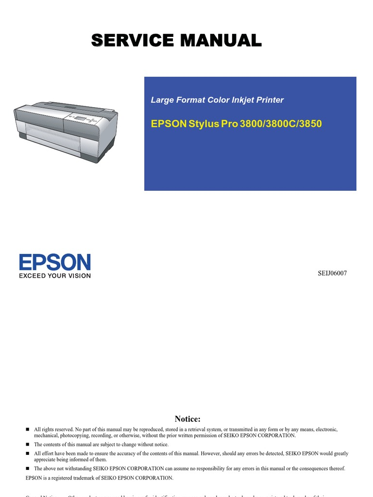 epson service manuals download