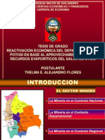 Diapositiva de Thel Hechas Por Car Tesis - Eliana Alejandro