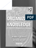 Organ is Ing Knowledge Ch 5