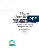 Ethanol From Biomass Rept 4-12-05