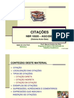 Abnt Citacao Autor Data 2010