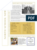 NSPS Fall 2011 Newsletter