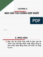 Chuong X- Bctc Hop Nhat