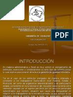 Expo Sic Ion Para El Vii Congreso (Garantia de Igualdad)