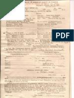 1952. Glenn Hubert Newport III (01.25.1952).  Report of Birth, Child Born Abroad of American Parent or Parents.