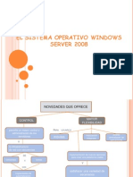 El Sistema Operativo Windows Server 2008