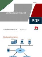 Configuracion DSLAM MA5600
