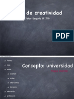 Taller de creatividad de Itziar Segovia