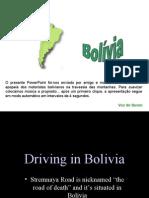 Conduzir Pelas Montanhas Da BolÍvia