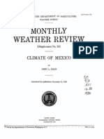 Climate of Mexico-1929