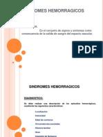 Sindromes Hemorragicos y Tromboticos