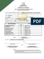 certificados 2005 I CICLO