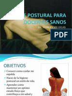 Higiene Postural Para Docentes Sanos