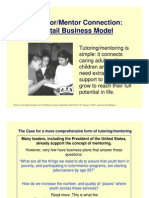 The Retail Model of Youth Mentoring - Case for Business Involvement