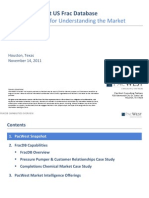 PacWest FracDB Capabilities Overview, Nov 2011