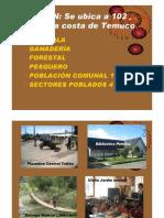 Presentación de la Biblioteca Pública de Toltén, Chile