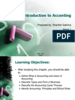 Week Introduction to Accounting