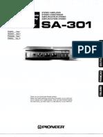 Pioneer SA 301