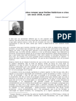 CHESNAIS, F. O Capitalismo Tentou Romper Seus Limites Historicos e Criou Um Novo 1929