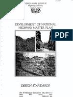 Yemen Highway Design Standards (1986)