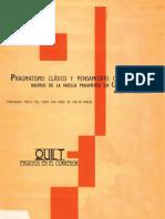 Pragmatismo clásico y Castoriadis