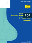 Interim Guide to Evaluation and Rehabilitation of Flexible Road Pavements - JKR 20709-0315-94
