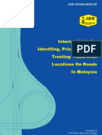Interim Guide on Identifying Prioritising and Treating Hazardous Locations on Roads in Malaysia - JKR 20708-0022-95