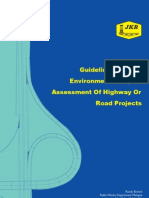 Guidelines for the Environmental Impact Assessment of Highway or Road Projects