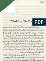 36-Mind Over Matter