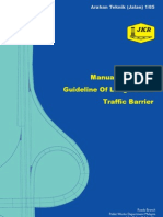 Arahan Teknik (Jalan) 1-85 - Manual on Design Guidelines of Longitudinal Traffic Barrier