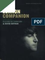 The Lennon Companion