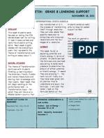 Weekly Bulletin 11.18.11