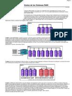 Niveles de Los Sistemas RAID