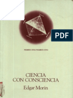 Edgar Morin - Ciencia Con Conciencia. Editorial Antrhopos